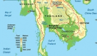 Thailand Location and Topography