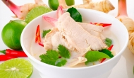Tom Kha Kai (Chicken in Coconut Milk Soup)