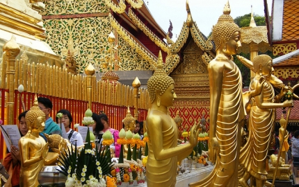 A beauty trail of Thailand